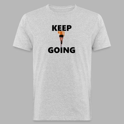 Keep going - Männer Bio-T-Shirt