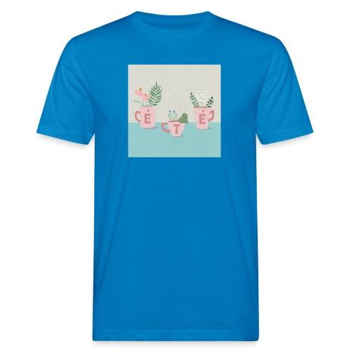 fleurs d'été - T-shirt ecologica da uomo