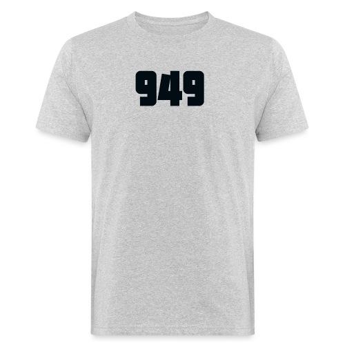 949black - Männer Bio-T-Shirt