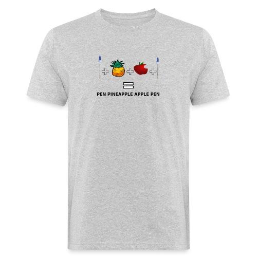PINEAPPLE APPLE PEN - T-shirt ecologica da uomo