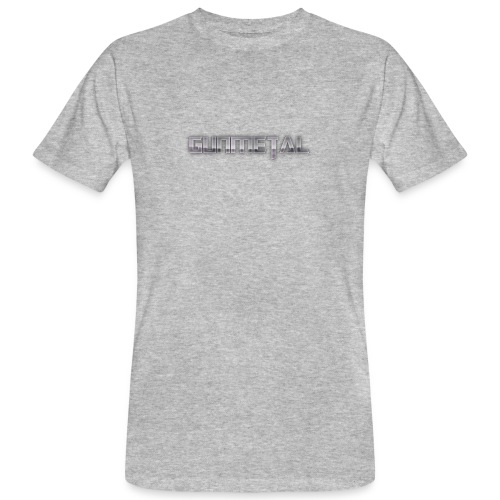 Gunmetal - Men's Organic T-Shirt