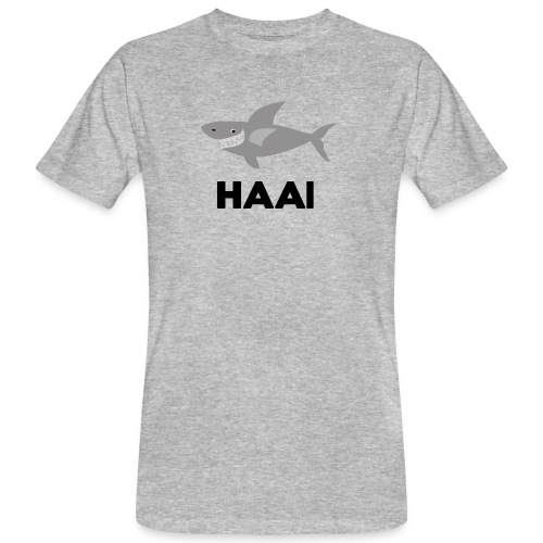 haai hallo hoi - Mannen Bio-T-shirt