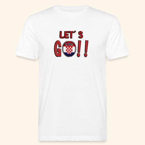 Go Croatia - T-shirt ecologica da uomo