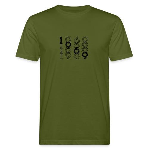 1969 syntymävuosi - Miesten luonnonmukainen t-paita