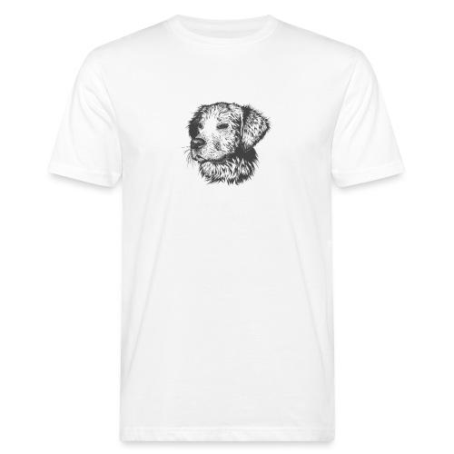 koiran kuva - Miesten luonnonmukainen t-paita