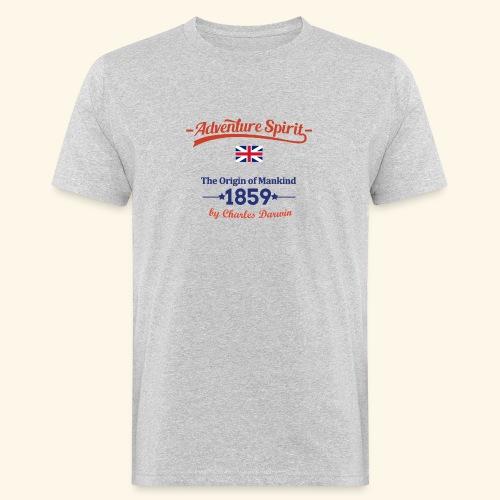 AdventureSpirit UK - Männer Bio-T-Shirt
