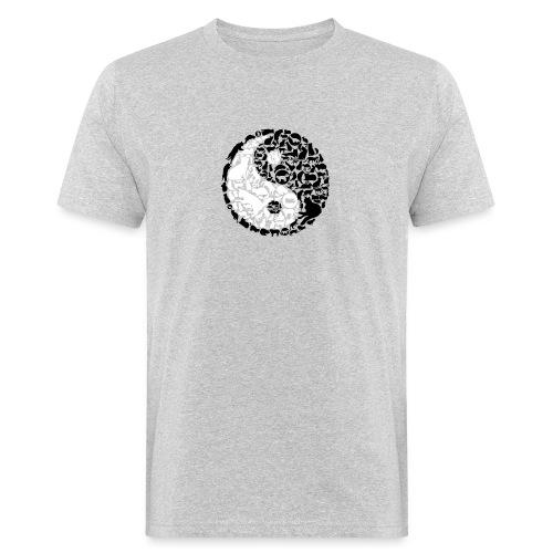 YinYang Cats - Männer Bio-T-Shirt