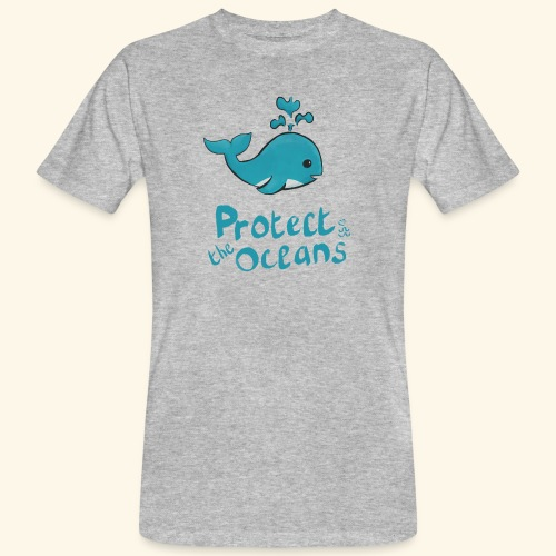 Protèges les océans - T-shirt bio Homme