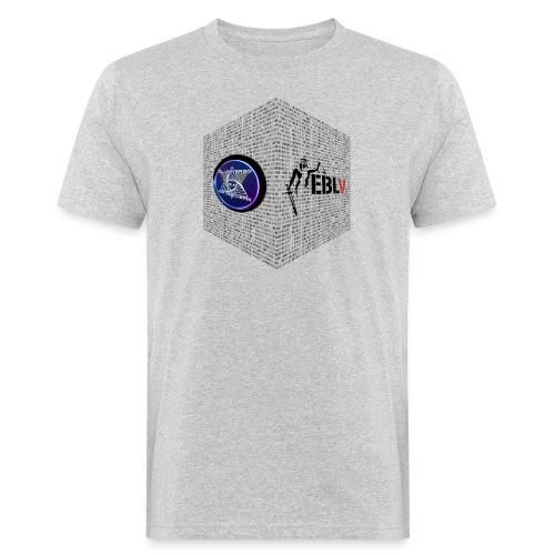 disen o dos canales cubo binario logos delante - Men's Organic T-Shirt