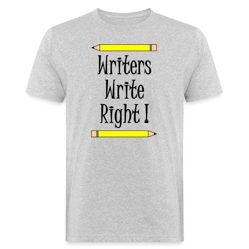 Writers Write Right - Men's Organic T-Shirt