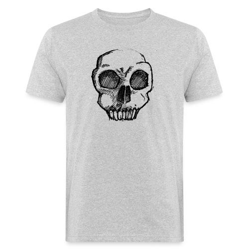 Skull sketch - Men's Organic T-Shirt