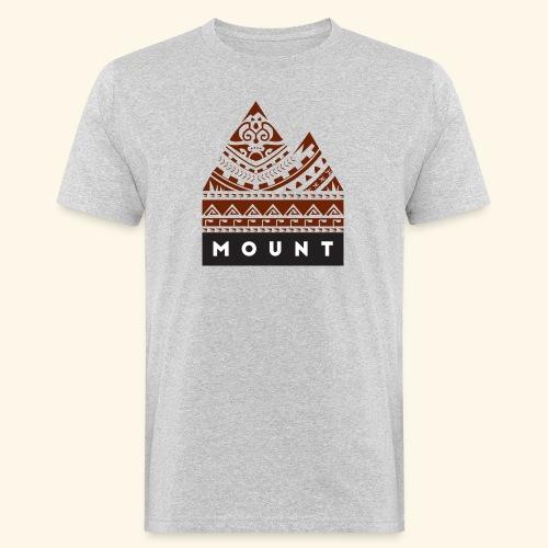 Mountains of the Heart by Te-Moana - Männer Bio-T-Shirt