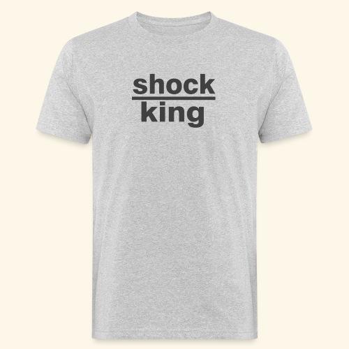 shock king funny - T-shirt ecologica da uomo