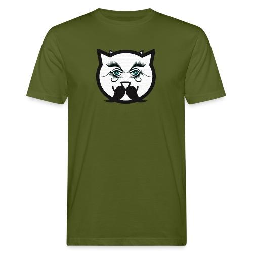 Hipster cat Boy by Tshirtchicetchoc - T-shirt bio Homme