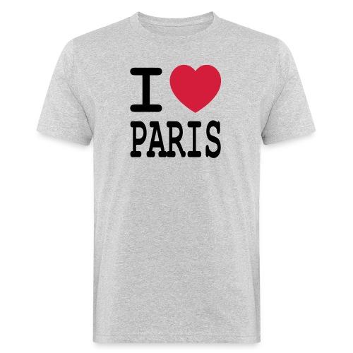 I love Paris - Mannen Bio-T-shirt