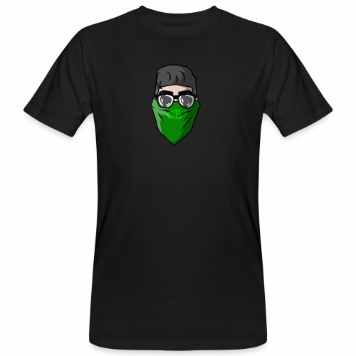 GBz bandana logo - Men's Organic T-Shirt
