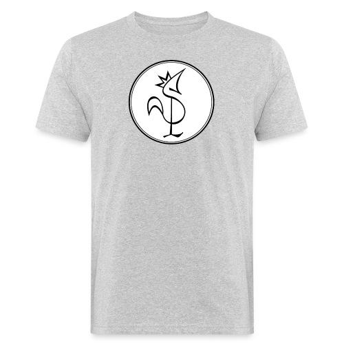 Pitou Noir fond blanc - T-shirt bio Homme