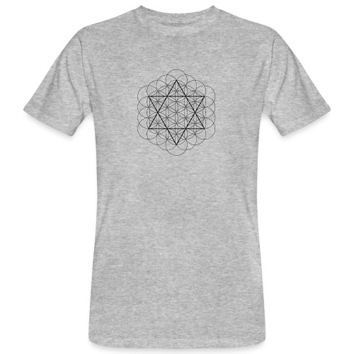 Flower of life and David Star - Organic mænd