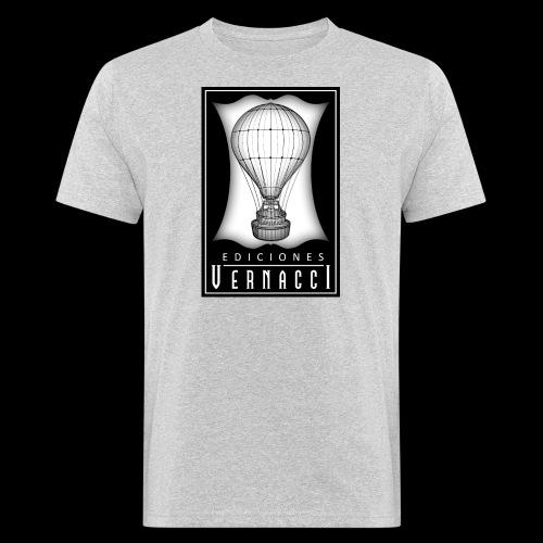logotipo de ediciones Vernacci - Camiseta ecológica hombre