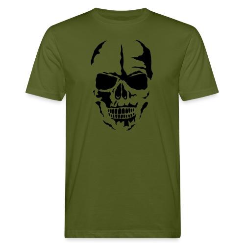 tete mort face skull dead 24 - T-shirt bio Homme
