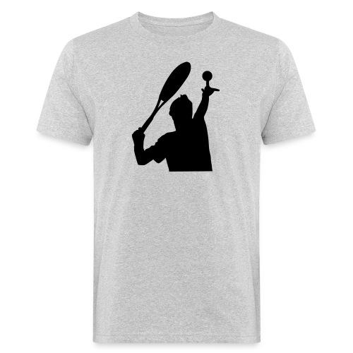 tennis silouhette 5 - T-shirt bio Homme