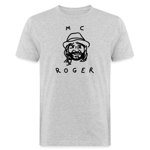 MC Roger Gesicht - Männer Bio-T-Shirt