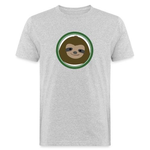 Faultier - Männer Bio-T-Shirt