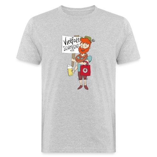 Aktions-Shirt Jugendpolitik - Männer Bio-T-Shirt