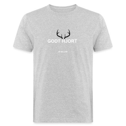 Godt Hjort - Økologisk T-skjorte for menn