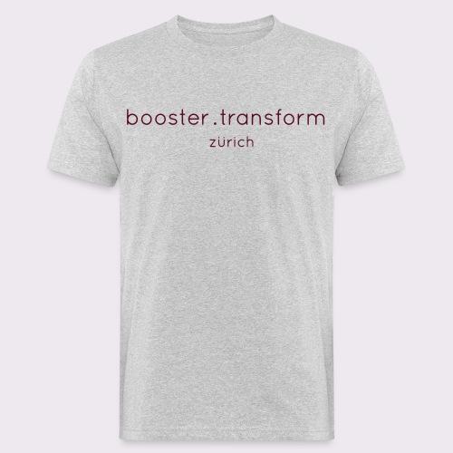 booster.transform zürich - Men's Organic T-Shirt