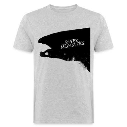 Wolf Fish Silhouette - Men's Organic T-Shirt