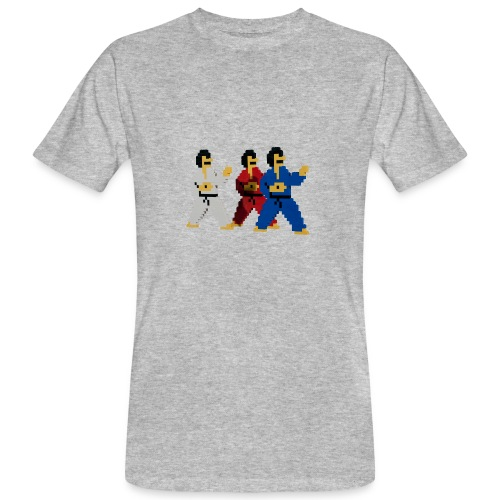8 bit trip ninjas 1 - Men's Organic T-Shirt