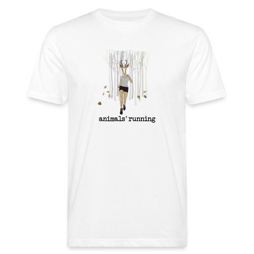 Antilope running - T-shirt bio Homme