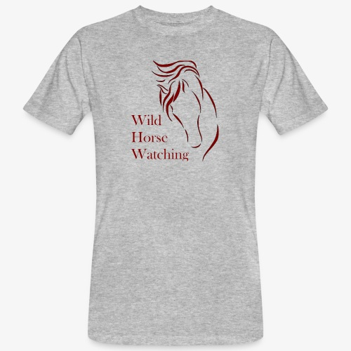 Logo Aveto Wild Horses - T-shirt ecologica da uomo