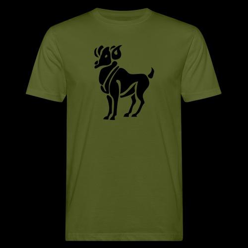 STERNZEICHEN WIDDER - Männer Bio-T-Shirt
