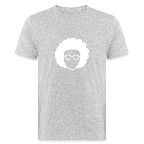 Afro Nerd - nerdy - Men's Organic T-Shirt