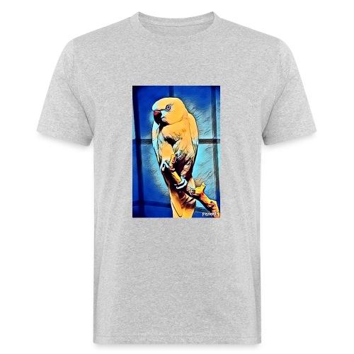 Bird in color - Miesten luonnonmukainen t-paita