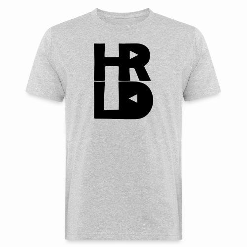 HRLD Black Logo - Miesten luonnonmukainen t-paita