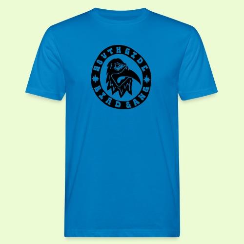 BLACK EAGLE LOGO - Miesten luonnonmukainen t-paita