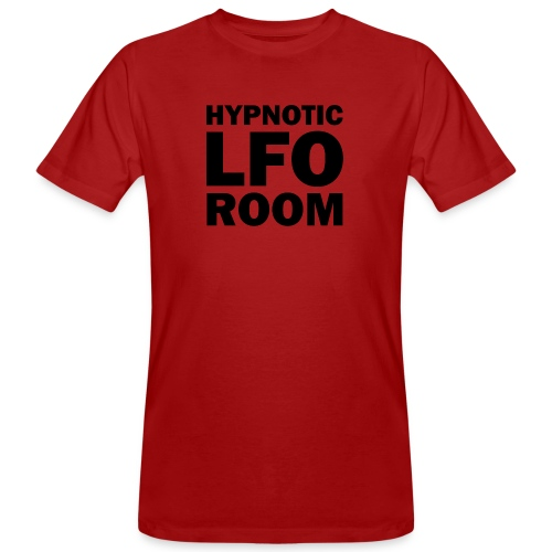 Hypnotic LFO Room Logo - Men's Organic T-Shirt
