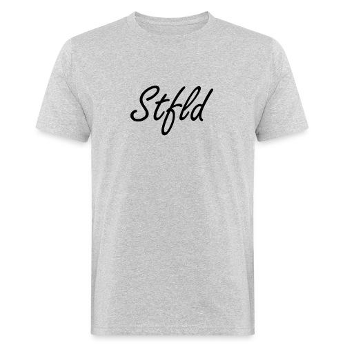 Stfld schwarz - Männer Bio-T-Shirt