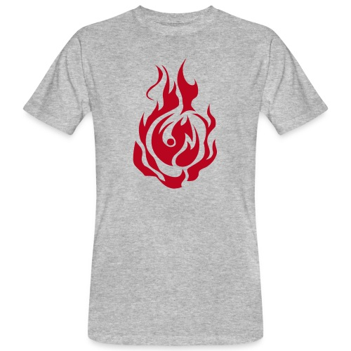 feu - T-shirt bio Homme