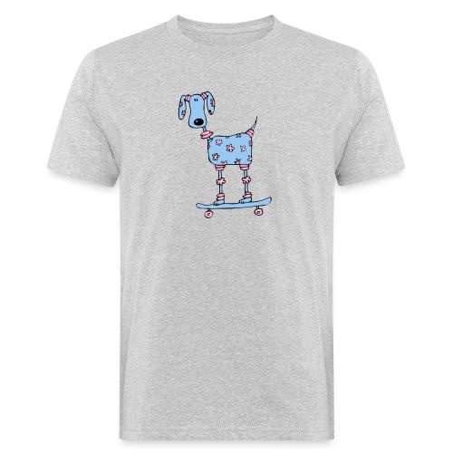 afbeelding skatehondokok - Mannen Bio-T-shirt