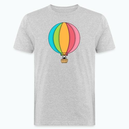 Zebra Zach Air Balloon - Ekologisk T-shirt herr