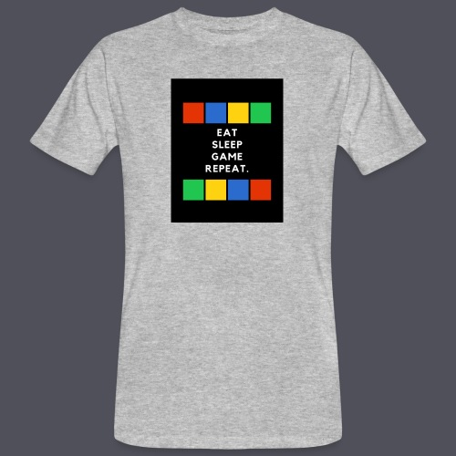 Eat, Sleep, Game, Repeat T-shirt - Men's Organic T-Shirt