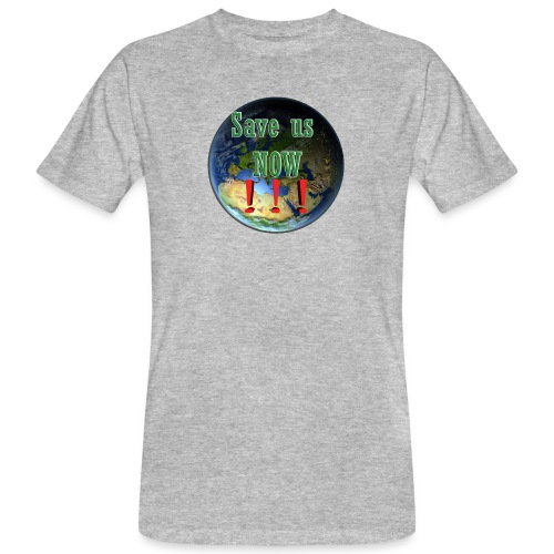save us earth friday for future - Men's Organic T-Shirt