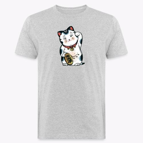 The Lucky Cat - Men's Organic T-Shirt