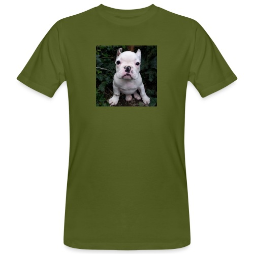 Billy Puppy 2 - Mannen Bio-T-shirt