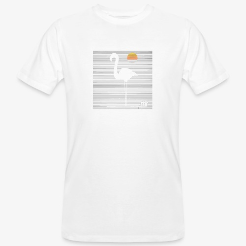 Fenicottero - T-shirt ecologica da uomo
