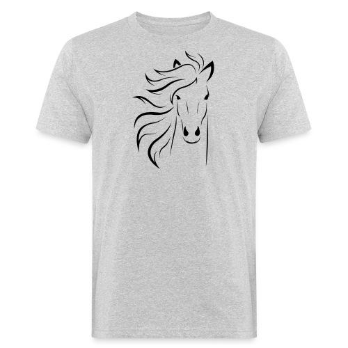 cheval - T-shirt bio Homme